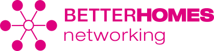 BETTERHOMES networking logo